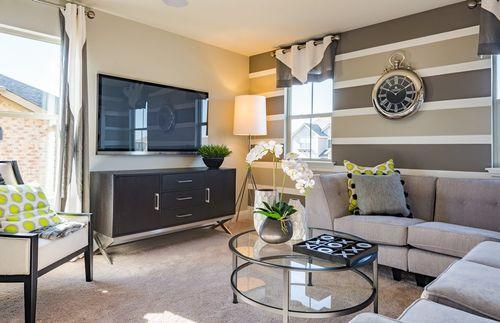Greatroom-in-Fifth Avenue-at-Carmel Creek-in-Hutto