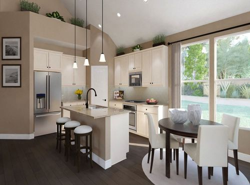 Kitchen-in-Clermont-at-Carmel Creek-in-Hutto