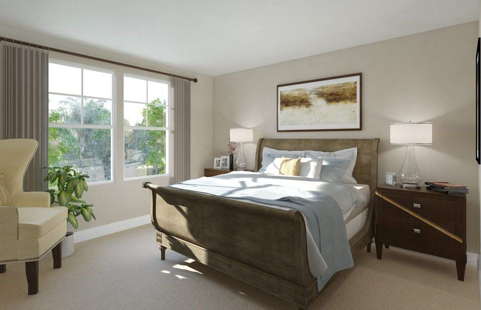Bedroom-in-Alexander-at-Parmer Crossing-in-Austin