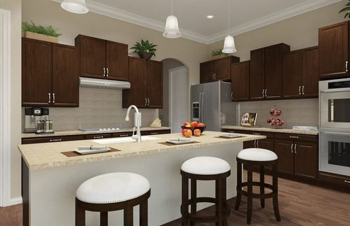 Kitchen-in-Ashbrook-at-Heritage Oaks at Pearson Place-in-Austin