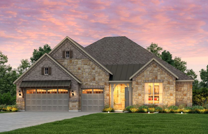 Exterior featured in the Nobility By Pulte Homes in Austin, TX