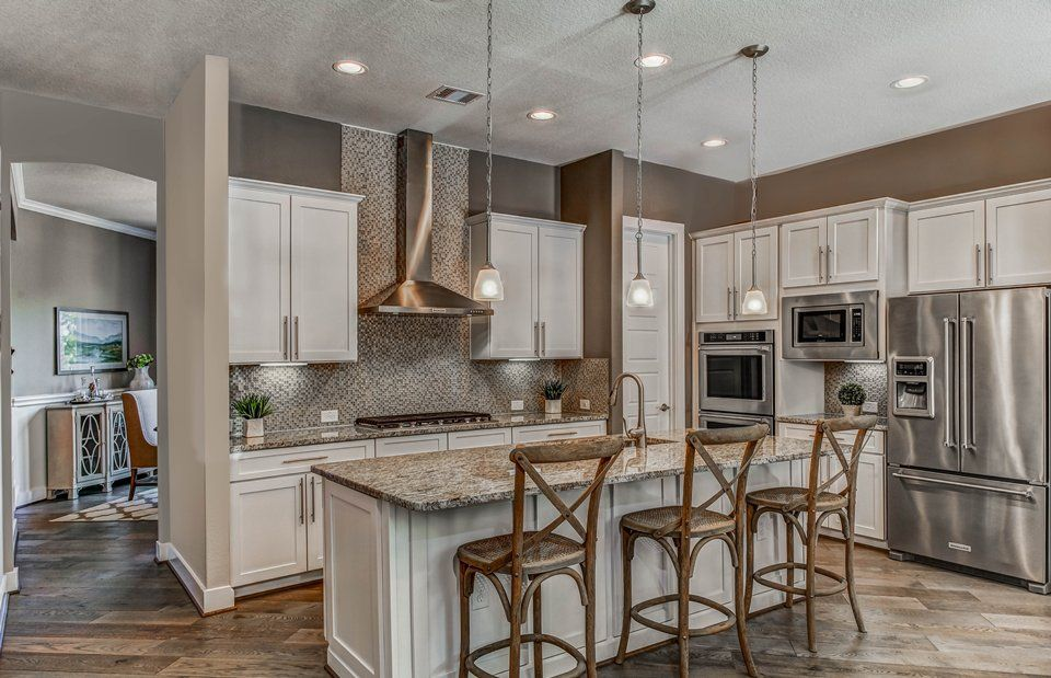 Kitchen-in-Hillside-at-Heritage Oaks at Pearson Place-in-Austin
