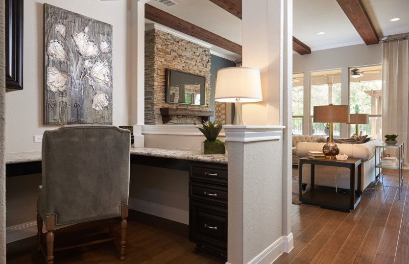 Living Area featured in the Ambassador By Pulte Homes in Austin, TX