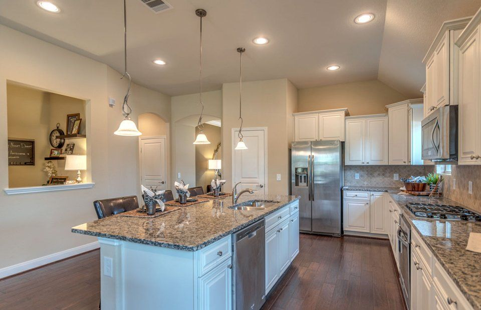 Kitchen-in-Calla-at-Siena-in-Round Rock