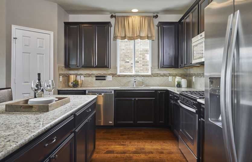 Kitchen featured in the Sandalwood By Pulte Homes in Austin, TX