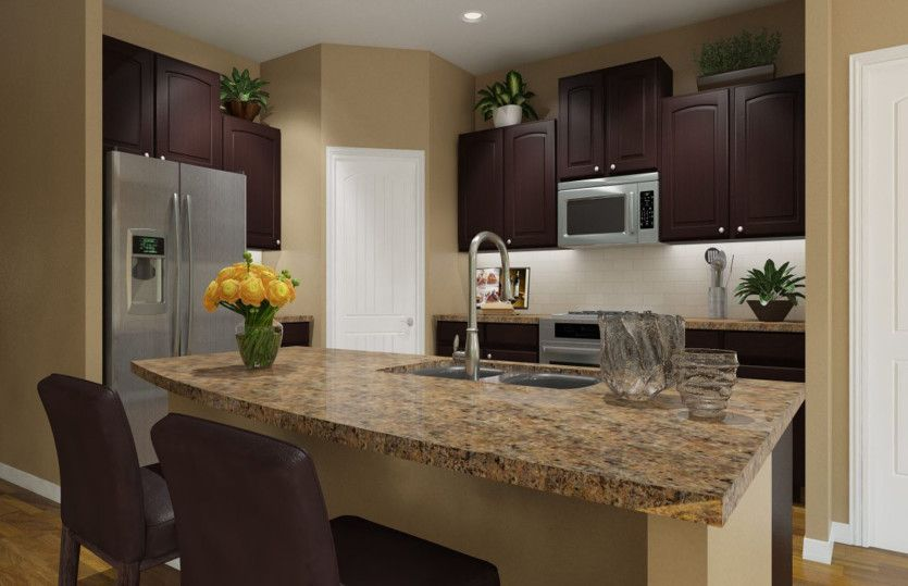 Kitchen-in-Sommerville-at-Siena-in-Round Rock