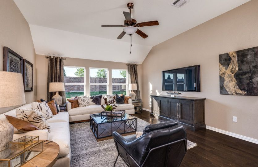 Living Area featured in the Mckinney By Pulte Homes in Fort Worth, TX