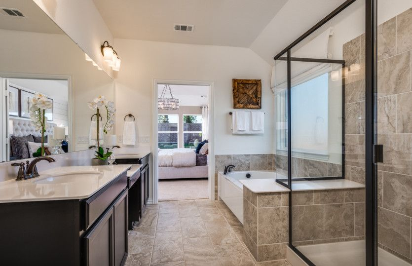 Bathroom featured in the Mckinney By Pulte Homes in Fort Worth, TX
