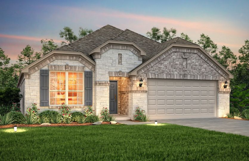 New Construction Homes Plans In Little Elm Tx 9 457 Newhomesource