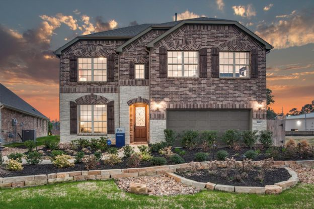Caldwell:Exterior C with stone accents