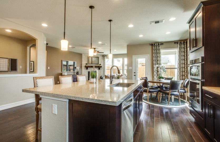 Kitchen-in-Mooreville-at-North Creek-in-Melissa