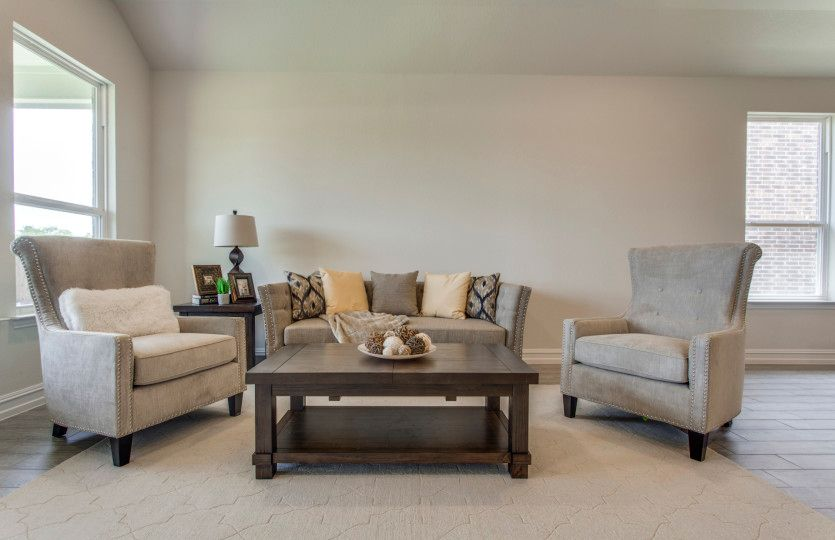 Living Area featured in the Sheldon By Pulte Homes in Dallas, TX