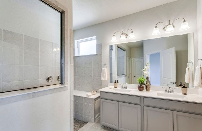 Bathroom featured in the Sheldon By Pulte Homes in Dallas, TX
