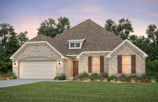 Exterior:The Kennedale, a 2-story home shown with Exterior B