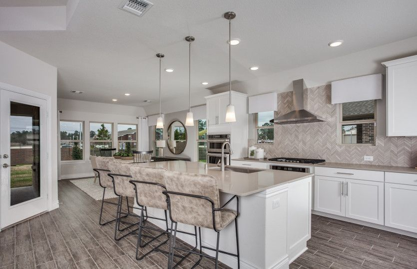 Kitchen-in-Kennedale-at-Willow Ridge Estates-in-Haslet