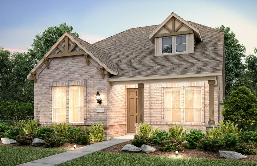 Exterior featured in the Briarstone By Pulte Homes in Dallas, TX