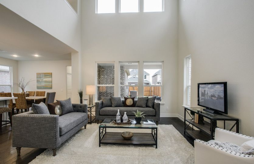 Living Area featured in the Highwater By Pulte Homes in Dallas, TX