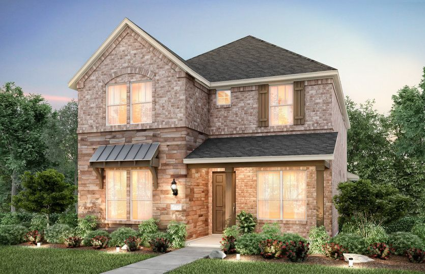 Exterior featured in the Westview By Pulte Homes in Dallas, TX