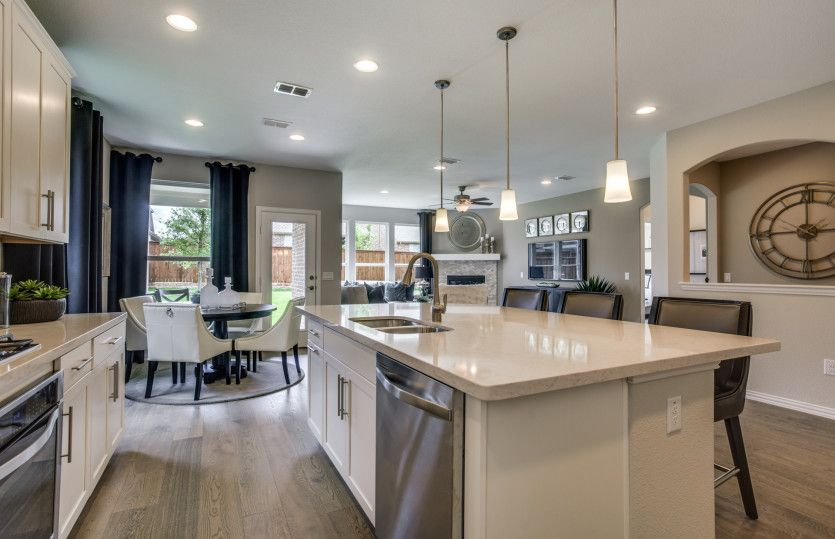 Kitchen featured in the Mooreville By Pulte Homes in Dallas, TX
