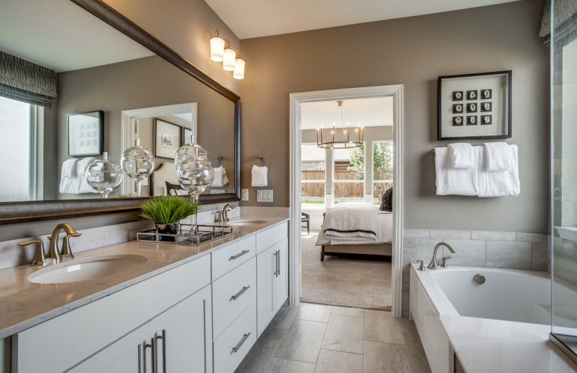Bathroom featured in the Mooreville By Pulte Homes in Dallas, TX
