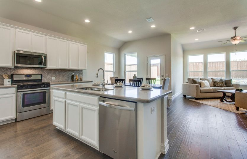 Kitchen featured in the Arlington By Pulte Homes in Austin, TX