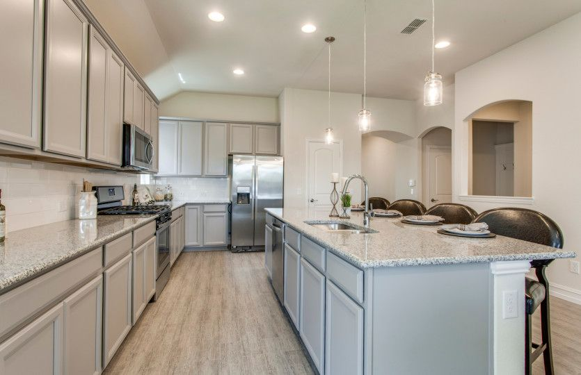 Kitchen featured in the Sheldon By Pulte Homes in Austin, TX