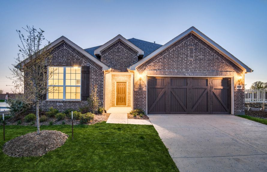 Pulte Homes Floor Plans Texas: The Homestead At Ownsby Farms In Celina, TX, New Homes