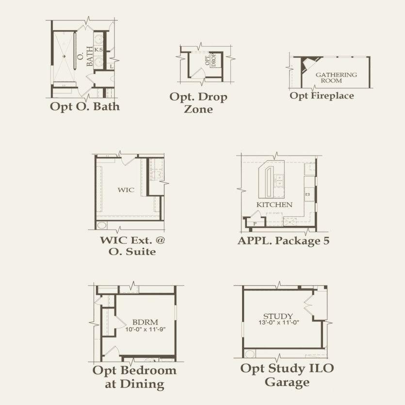 Mooreville Plan Pulte Homes 4 Bedrooms 3 Baths 2851
