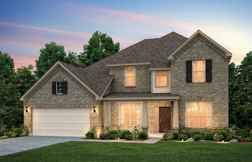 Exterior featured in the Lawson By Pulte Homes in Fort Worth, TX
