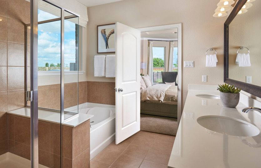 Bathroom featured in the Hamilton By Pulte Homes in Houston, TX