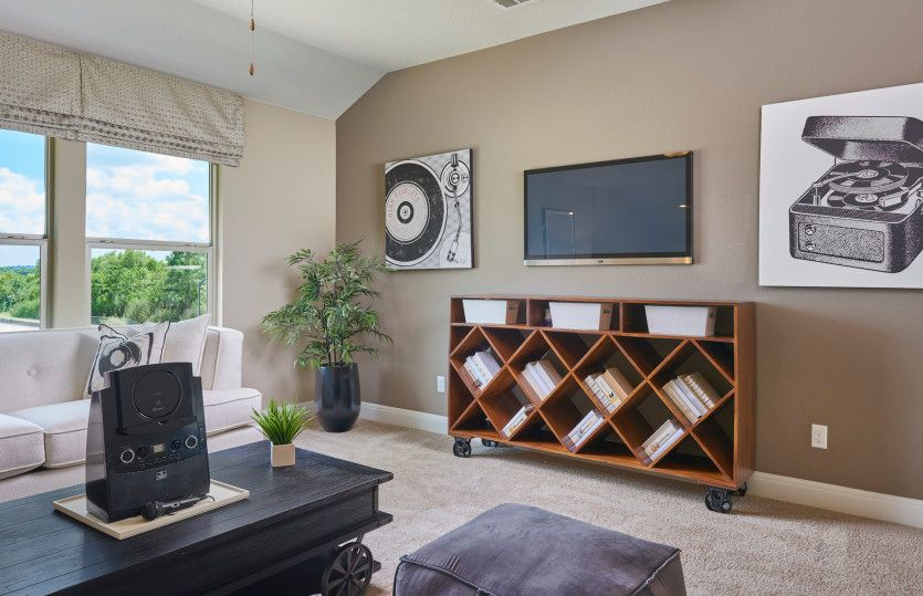 Living Area featured in the Hamilton By Pulte Homes in Houston, TX