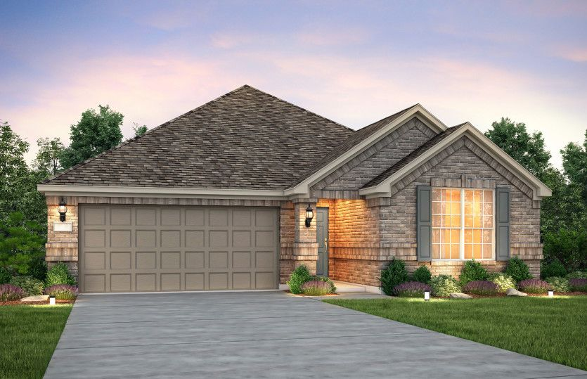 Exterior featured in the Dayton By Pulte Homes in Houston, TX