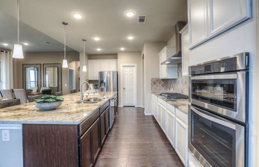 Kitchen-in-Beaumont-at-Hidden Lake-in-Tomball