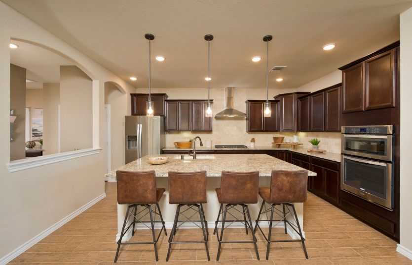 Kitchen featured in the Lexington By Pulte Homes in Houston, TX