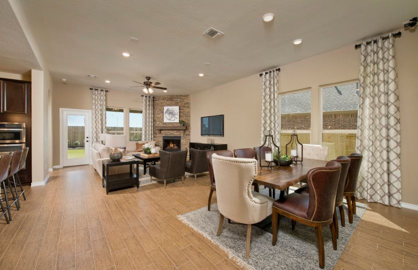 Living Area featured in the Lexington By Pulte Homes in Houston, TX