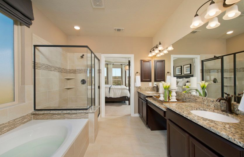 Bathroom featured in the Lexington By Pulte Homes in Houston, TX