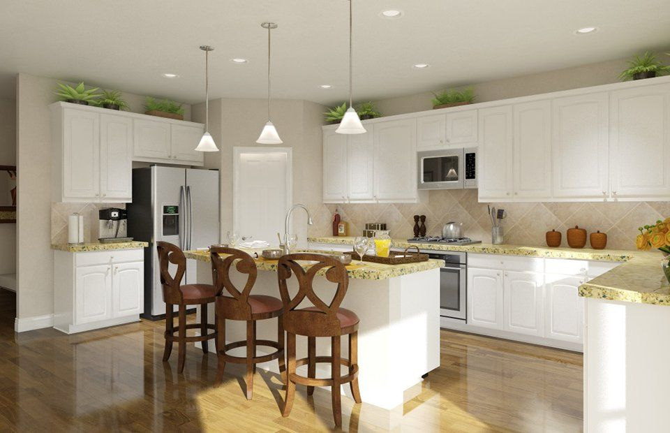 Kitchen-in-Meridian-at-King Crossing-in-Katy