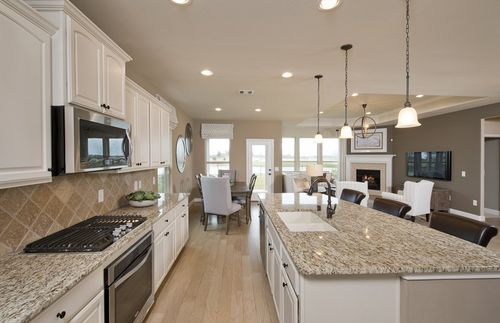 Kitchen-in-Soledad-at-King Crossing-in-Katy