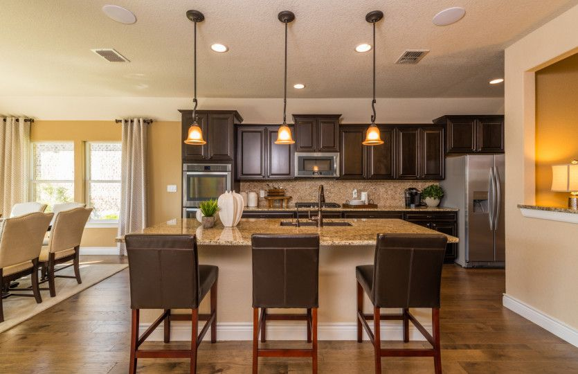 Kitchen-in-Kennedale-at-Pin Oak Enclave-in-Katy