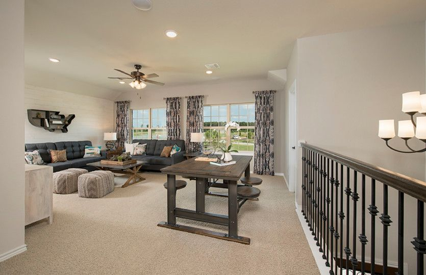 Living Area featured in the Caldwell By Pulte Homes in San Antonio, TX