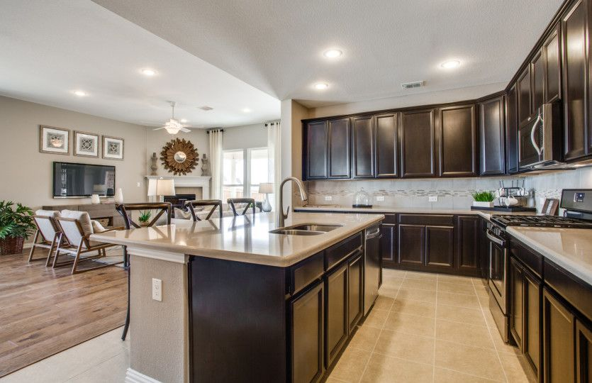 Kitchen featured in the Lexington - 3-Car Garage By Pulte Homes in San Antonio, TX