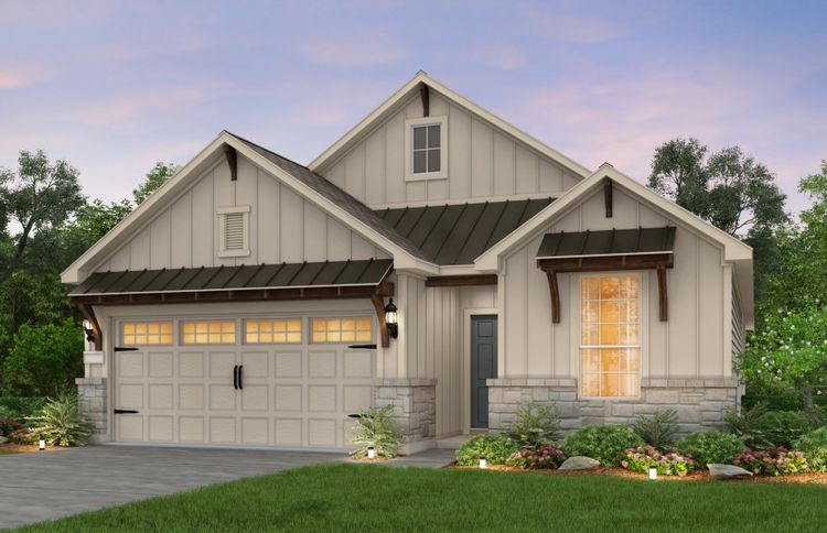 Exterior featured in the Fox Hollow By Pulte Homes in San Antonio, TX