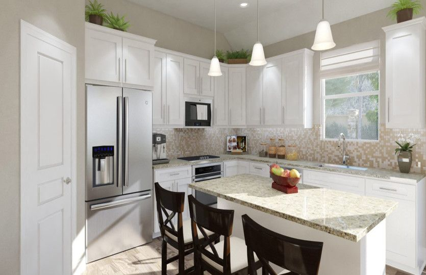 Kitchen featured in the Barrett By Pulte Homes in San Antonio, TX