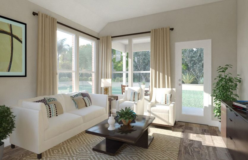 Living Area featured in the Barrett By Pulte Homes in Houston, TX