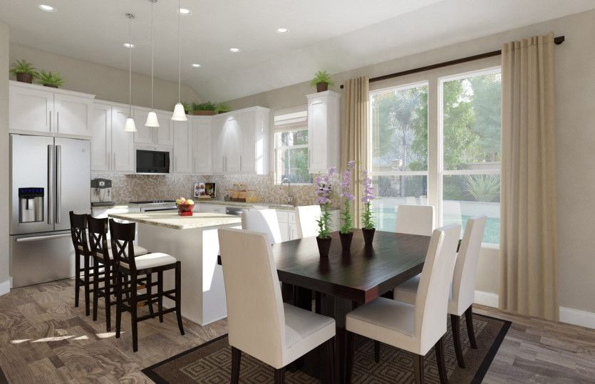 Kitchen featured in the Barrett By Pulte Homes in Houston, TX