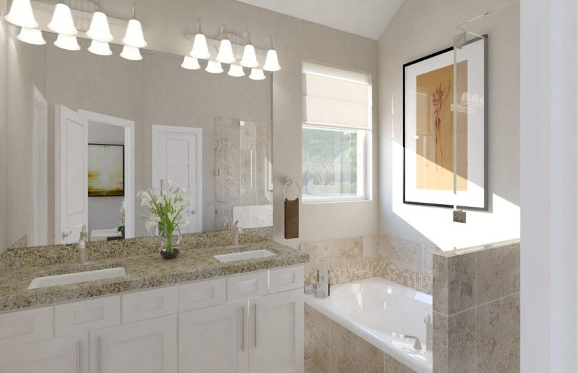 Bathroom featured in the Barrett By Pulte Homes in Houston, TX