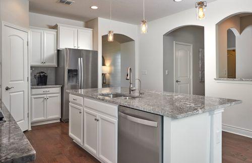 Kitchen-in-Hamilton-at-Sterling Ridge-in-San Antonio