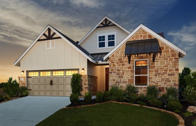 The Crossvine In Schertz, TX, New Homes & Floor Plans By