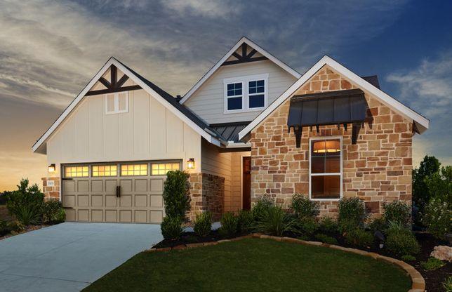 The Crossvine In Schertz, TX, New Homes & Floor Plans By