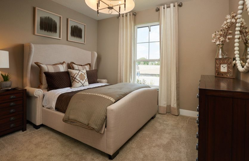 Bedroom featured in the Mooreville By Pulte Homes in San Antonio, TX